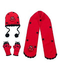 Kidorable™ Ladybug Cold Weather Accessories