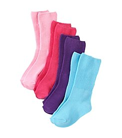 Little Miss Attitude Girls' Turn Cuff Socks