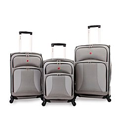 SwissGear® Pewter Spinner Luggage Collection
