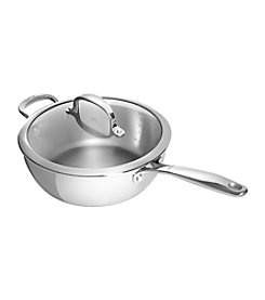 OXO® Good Grips Cookware 3-qt. Stainless Steel Pro Covered Saucepan with Helper Handle
