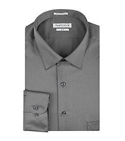 Van Heusen® Men's Big & Tall Sateen Solid Dress Shirt