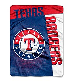 MLB® Texas Rangers Strike Raschel Throw