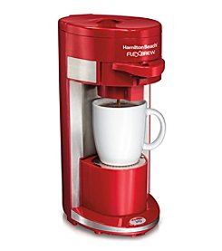 Hamilton Beach® Flex Brew Single Serve Coffeemaker