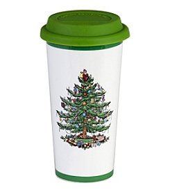 Spode® Christmas Tree 15-Oz. Travel Mug With Silicone Lid