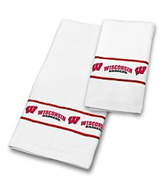 Sports Coverage® NCAA® Wisconsin Badgers Towel Set