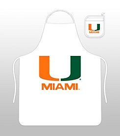 NCAA® University of Miami Kitchen Textiles Set