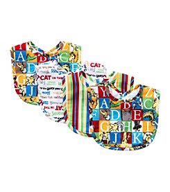 Trend Lab 4-Pack Dr. Seuss Alphabet Bib Set