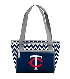 MLB® Minnesota Twins Chevron Can Cooler Tote