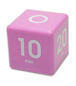 Datexx® Purple Miracle Cube Timer with 5, 10, 20, and 30 Minute Preset Times