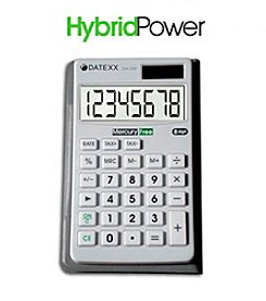 Datexx® Hybrid Power Wallet Calculator