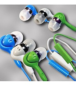 Datexx® Set of 3 High Performance Hands Free Talk Stereo Earphones with Microphone