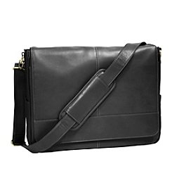 Royce® Leather Laptop Messenger Bag
