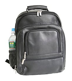 Royce® Leather Colombian Vaquetta Deluxe Laptop Backpack