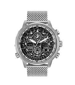 Citizen® Men's Stainless Steel Navihawk Watch