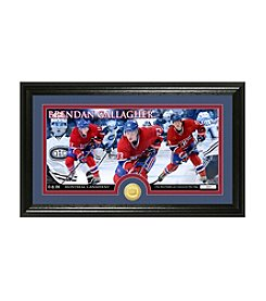 NHL® Montreal Canadiens Brendan Gallagher Bronze Minted Coin Panoramic Photo