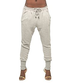 Poetic Justice® Crop Drawstring Pants
