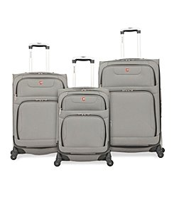SwissGear® 7297 Pewter Spinner Luggage Collection
