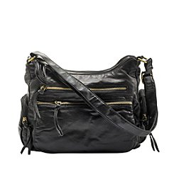 GAL Black Pearlized Crossbody