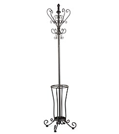 Southern Enterprise Elegant Metal Scroll Hall Tree