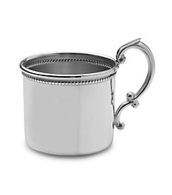 Empire Silver™ Pewter Beaded Classic Baby Cup