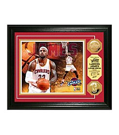 NBA® Cleveland Cavaliers LeBron James Gold Coin Photo Mint