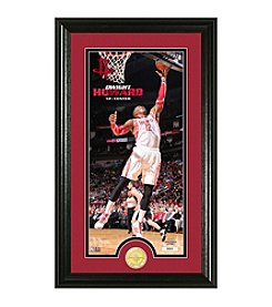 NBA® Houston Rockets Dwight Howard Bronze Coin Panoramic Photo Mint