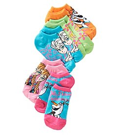 Disney® Girls' Frozen Olaf No Show Socks