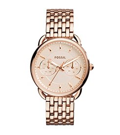 Fossil® Women's 35mm Rose Goldtone Tailor Watch