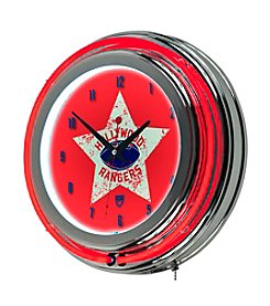 Trademark Home™ Hollywood Rangers Neon Clock
