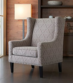 Madison Park Multicolor Barton Wing Chair