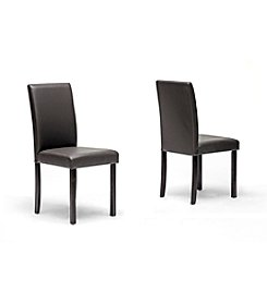 Baxton Studios Andrew Modern Set of 4 Dining Chairs