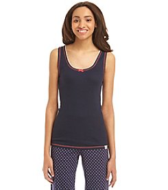 Tommy Hilfiger® Ribbed Lacy Tank