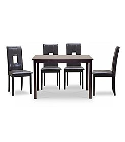 Baxton Studios 5pc. Bellar Dining Set