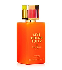 kate spade new york® Live Colorfully® Shower Cream