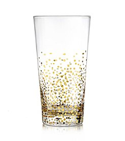 Fitz and Floyd® Gold Luster Set of 4 Highball Glasses