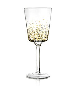 Fitz and Floyd® Gold Luster Set of 4 White Wine Glasses