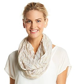 Collection 18 Chevron Pleat Loop Scarf
