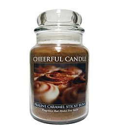 A Cheerful Giver 24 oz. Praline Caramel Sticky Buns Candle