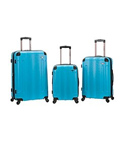 Rockland 3-pc. Sonic ABS Upright Luggage Set