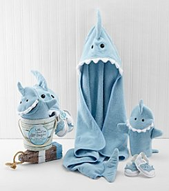 Baby Aspen 4 Piece Shark Fin Bath Gift Set