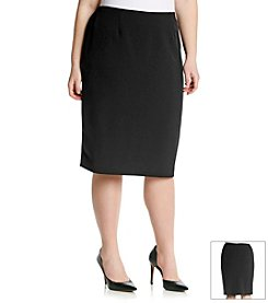 Kasper® Plus Size Lined Skirt