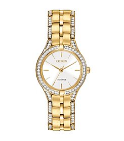 Citizen® Women's Eco-Drive Silhouette Crystal Watch
