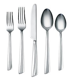 Corelle® Laina Frost 45-pc. Flatware Set with Hostess Set