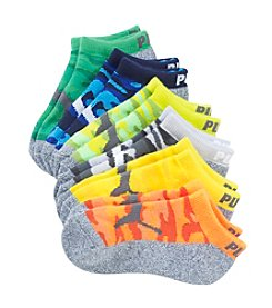 PUMA® Boys' Heel-Toe Cushion Socks