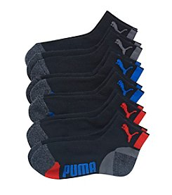 PUMA® Boys' 6-Pack Quarter Crew Socks