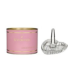 Waterford® Pink Giftology Heart Ring Holder