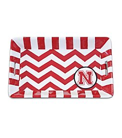 NCAA® University of Nebraska Chevron Mini Tray