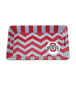NCAA® Ohio State University Chevron Mini Tray