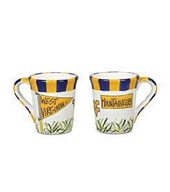 NCAA® West Virginia University Flags Mug