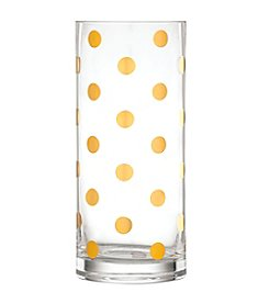 Kate Spade New York® Pearl Place Large Gold Dots Vase